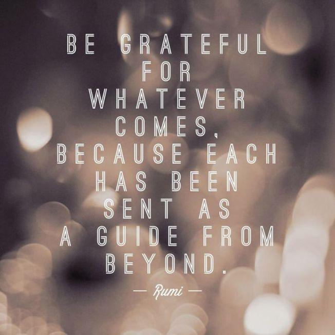 4 Be grateful.AC52016